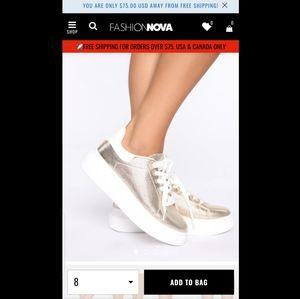 New FashionNova sneakers